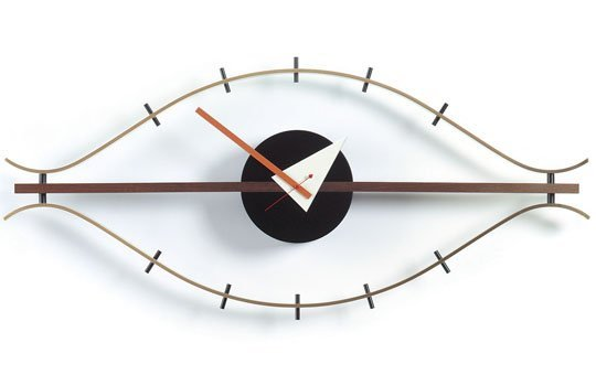 Nelson Eye Wall Clock