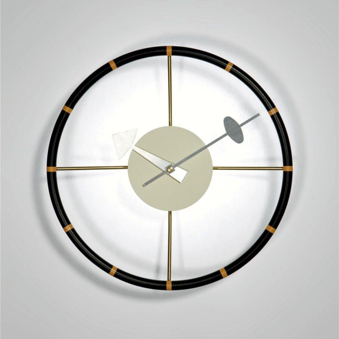 Nelson Steering Wheel Clock