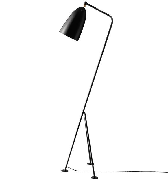 Greta Grossman Grasshopper Floor Lamp
