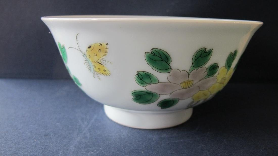 CHINESE PORCELAIN FAMILLE ROSE BOWL - 2