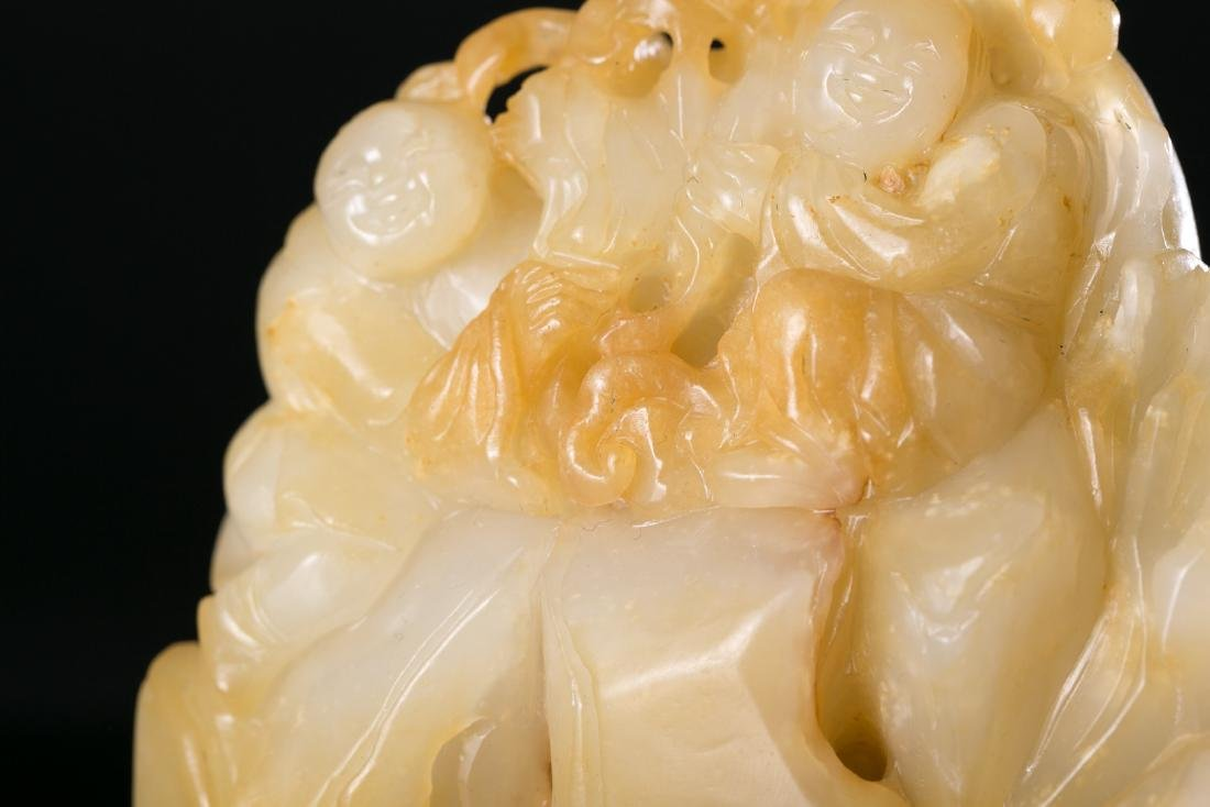 CHINESE HETIAN JADE CRAVING - 5