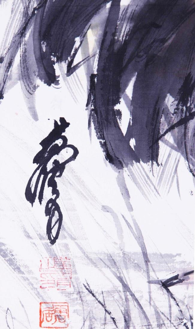 CHINESE SCROLL PAINTING OF ROOSTER - 4