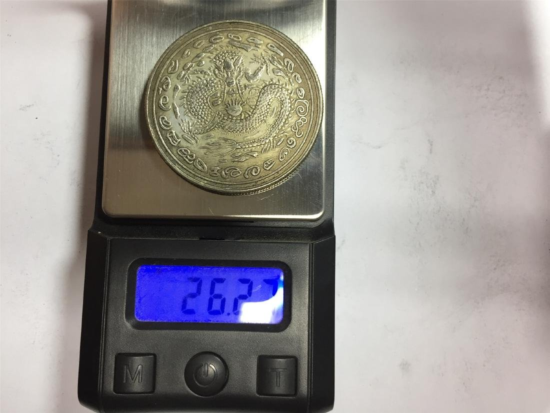 SIX CHINESE DOLLAR COINS REPUBLIC PERIOD - 3