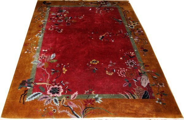 1920S CHINESE ART DECO CARPET