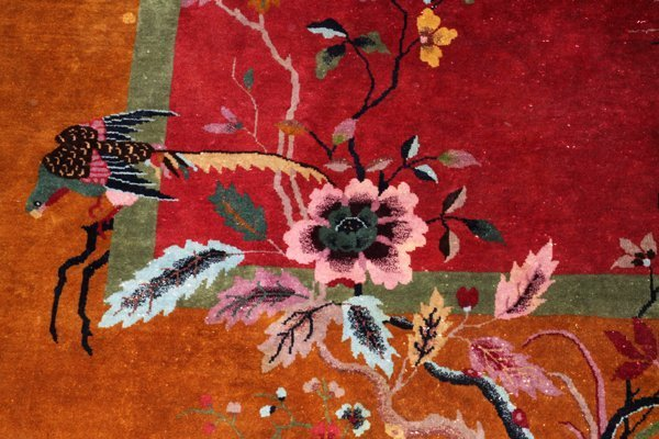 1920S CHINESE ART DECO CARPET - 2
