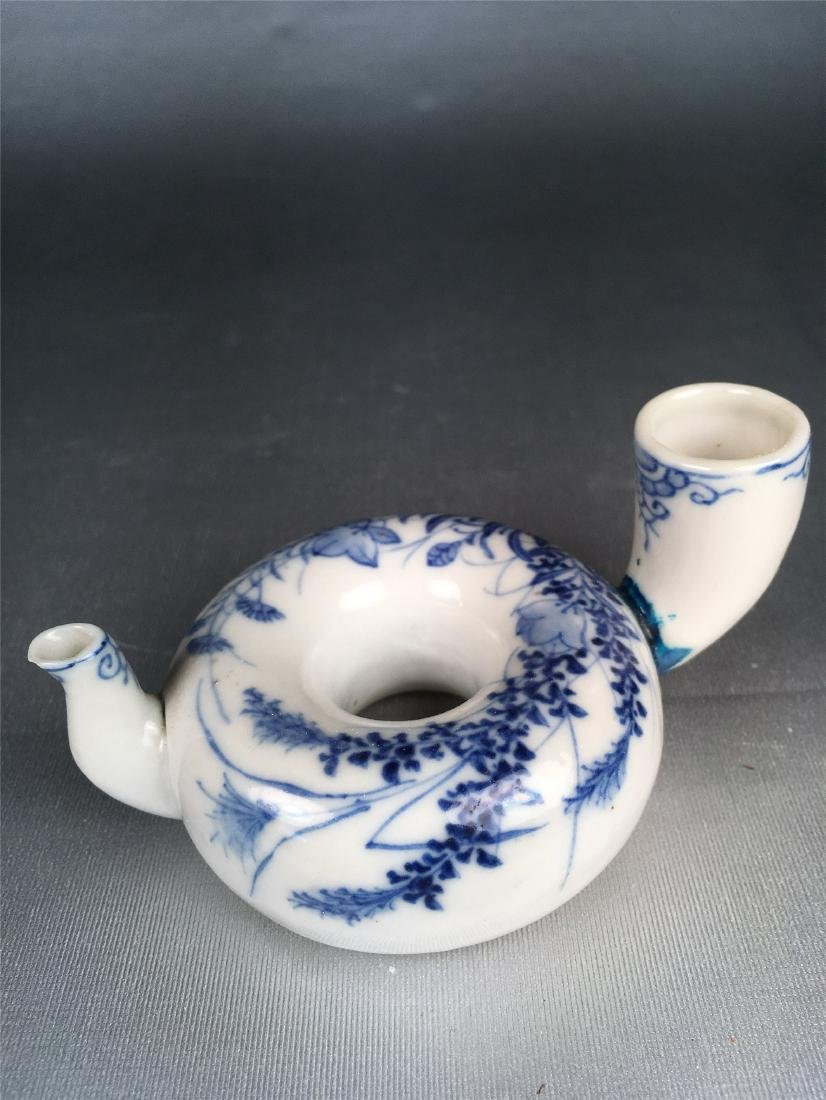 THREE CHINESE PORCELAIN BRUSH WASHERS - 2