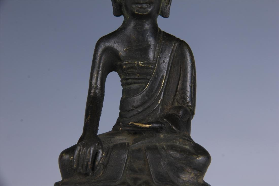 CHINESE SEATED BUDDHA - 3