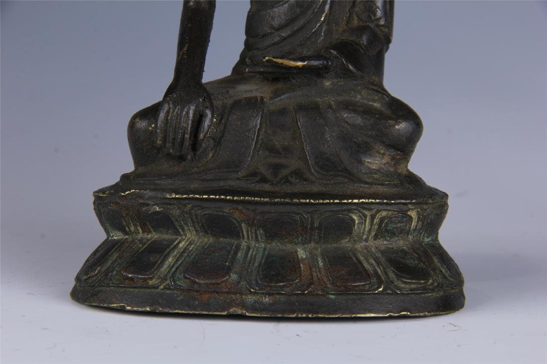 CHINESE SEATED BUDDHA - 4