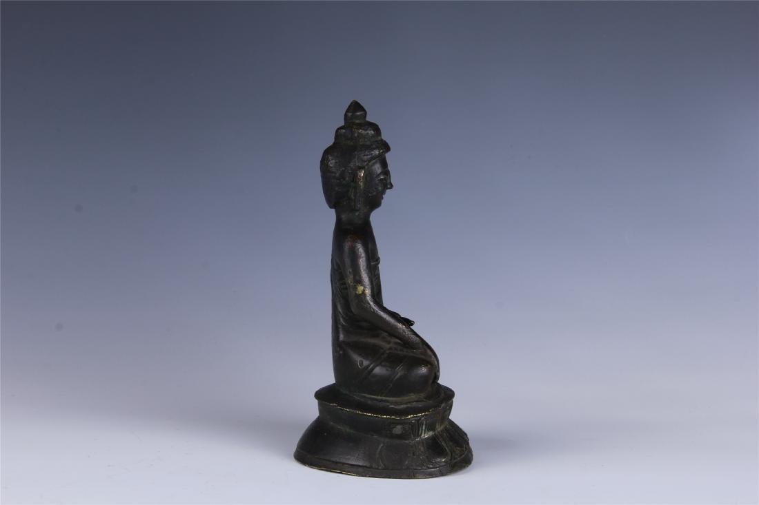 CHINESE SEATED BUDDHA - 5