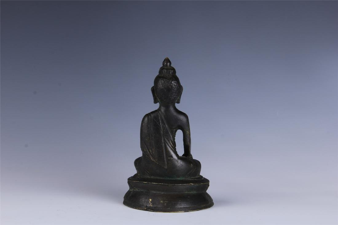 CHINESE SEATED BUDDHA - 6