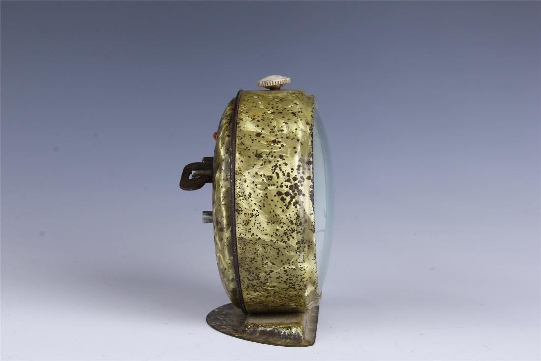 CHINESE COPPER CLOCK - 5