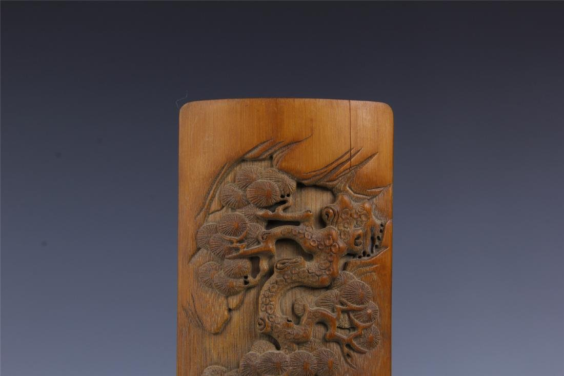 CHINESE BAMBOO ARM REST - 2