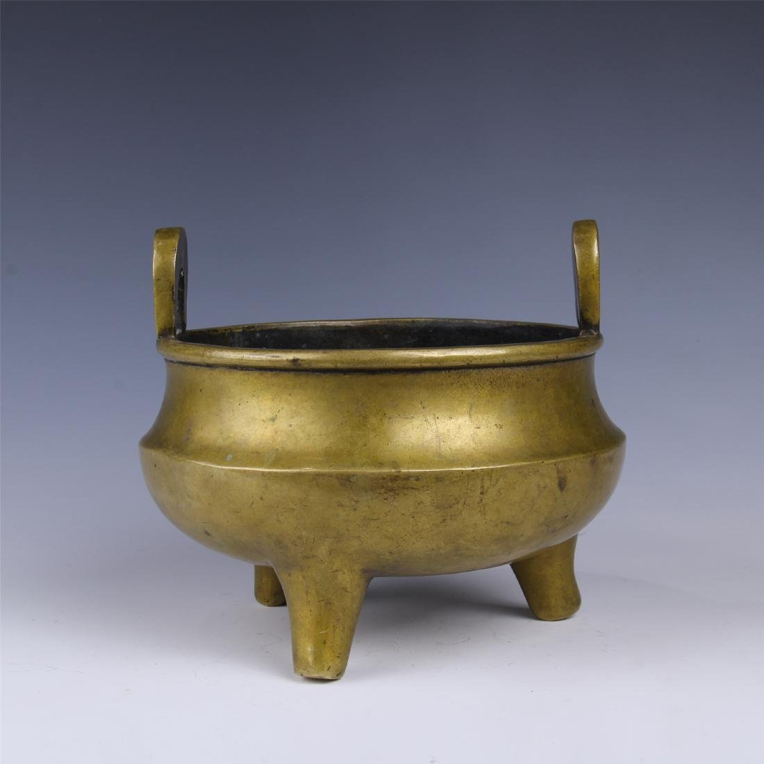 CHINESE COPPER TRIPLE FEED CENSER