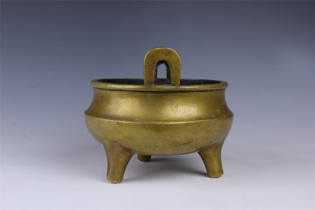 CHINESE COPPER TRIPLE FEED CENSER - 5