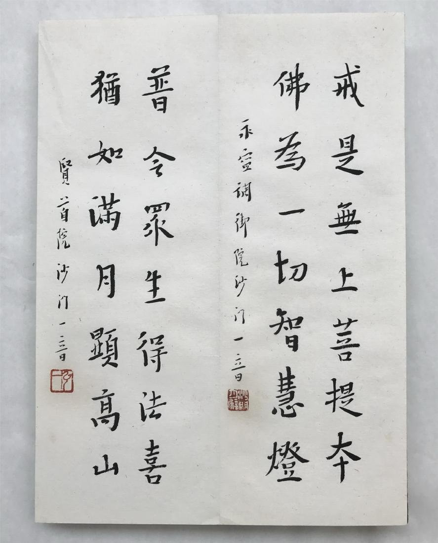 FORTY-EIGHT PAGES OF CHINESE ALBUM CALLIGRAPHY - 4
