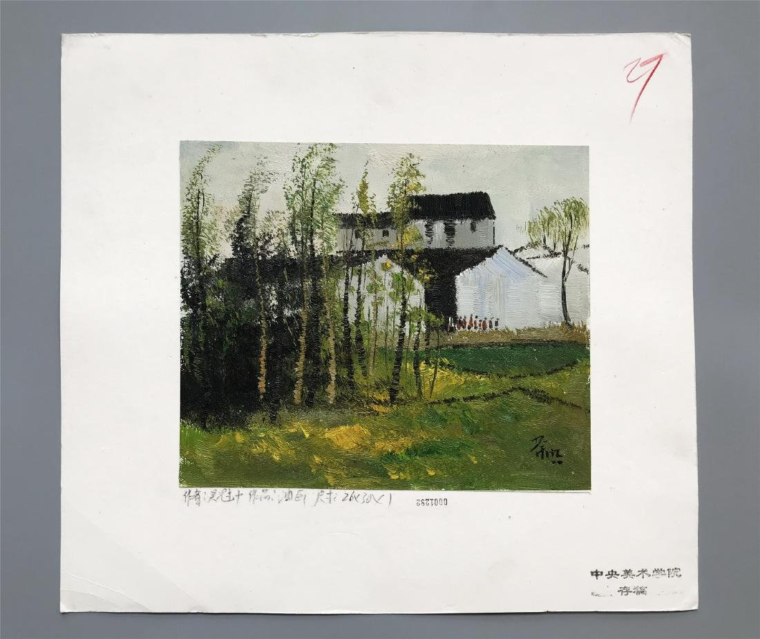 NINETEEN PAGES OF CHINESE WATERCOLOR PAINTING OF - 10