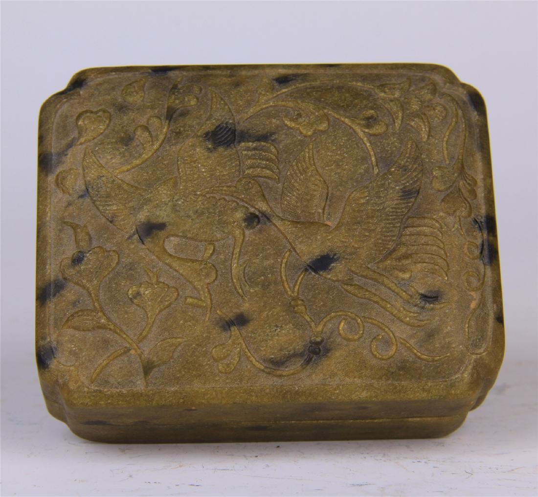 CHINESE STONE CARVED INK STONE