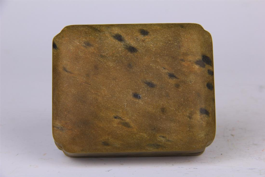 CHINESE STONE CARVED INK STONE - 8