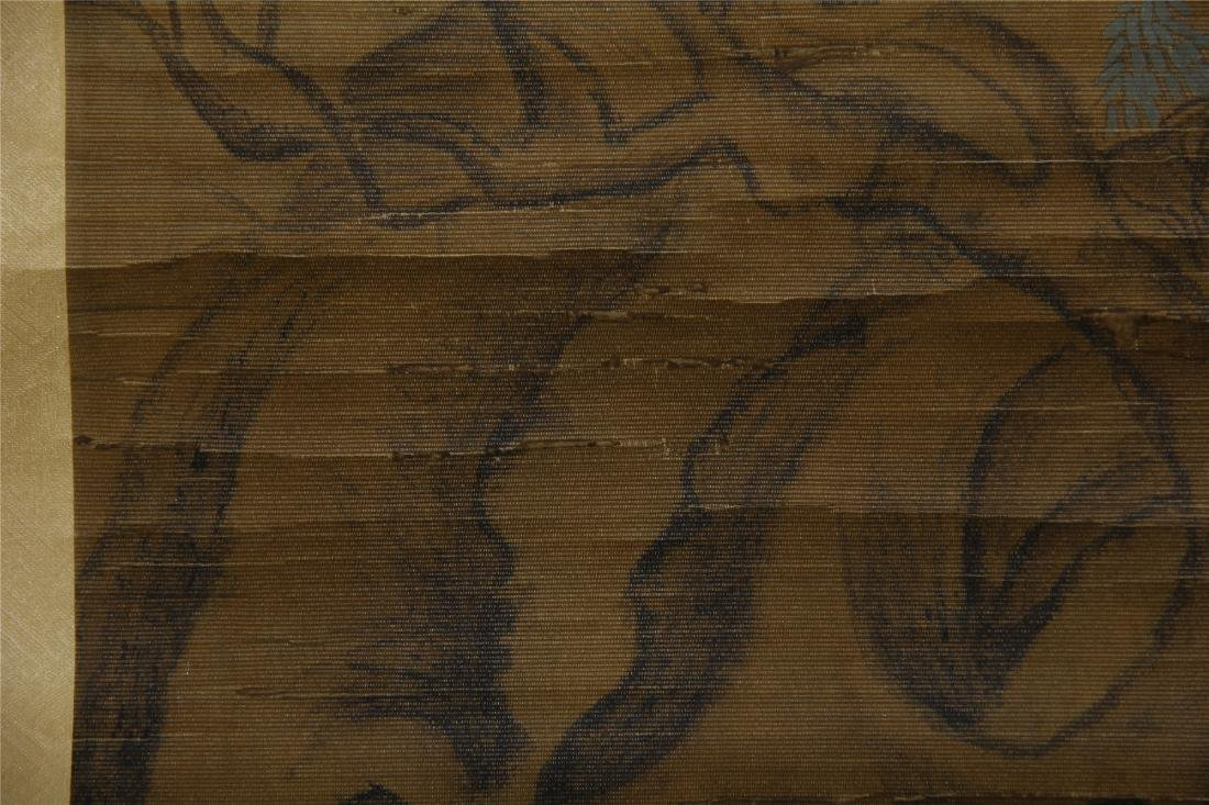 CHINESE SCROLL PAINTING OF BIRDS ON TREE - 5