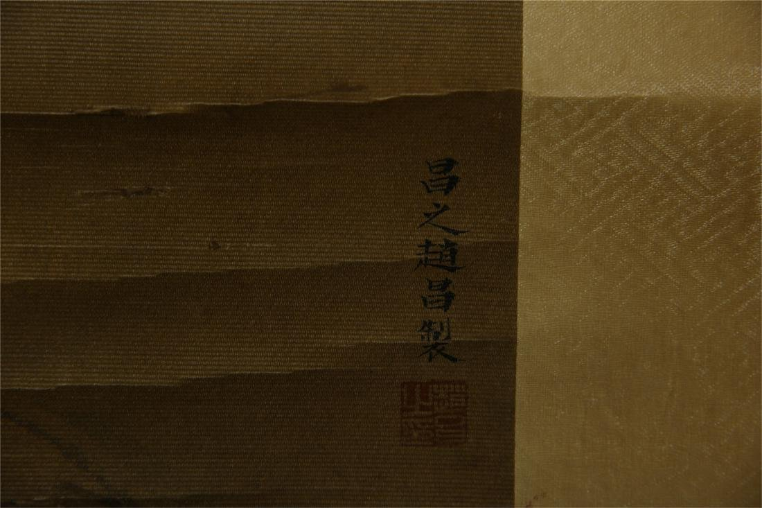 CHINESE SCROLL PAINTING OF BIRDS ON TREE - 9
