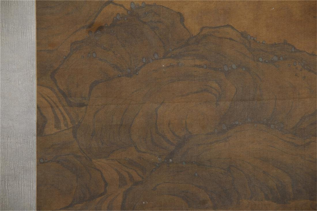 CHINESE SCROLL PAINTING OF BIRDS ON TREE - 10