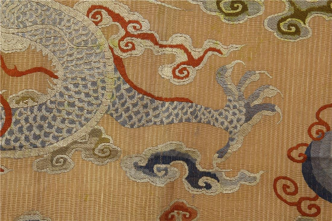 CHINESE EMBROIDERY DRAGON TAPESTRY - 7