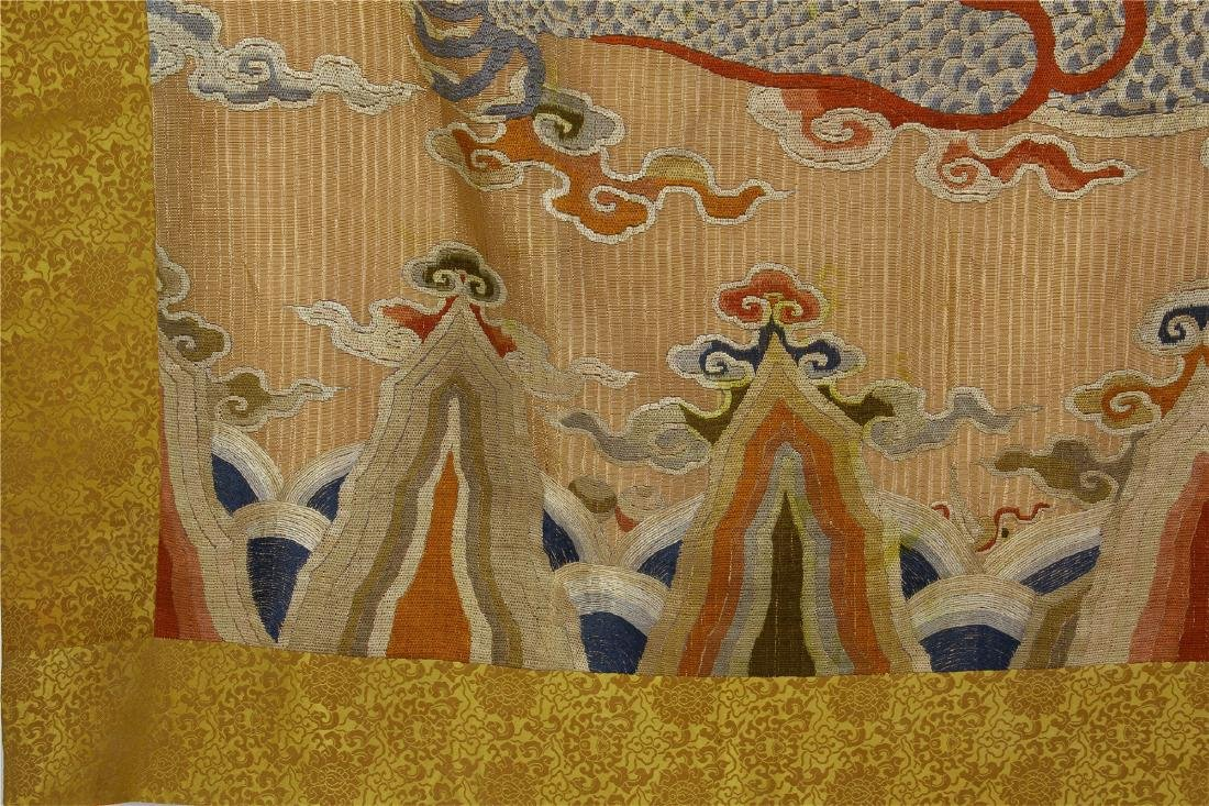 CHINESE EMBROIDERY DRAGON TAPESTRY - 9
