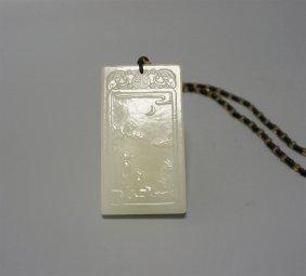 White Jade Plaque
