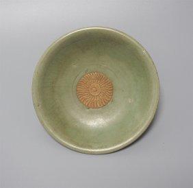 Chinese Porcelain Celadon Dish