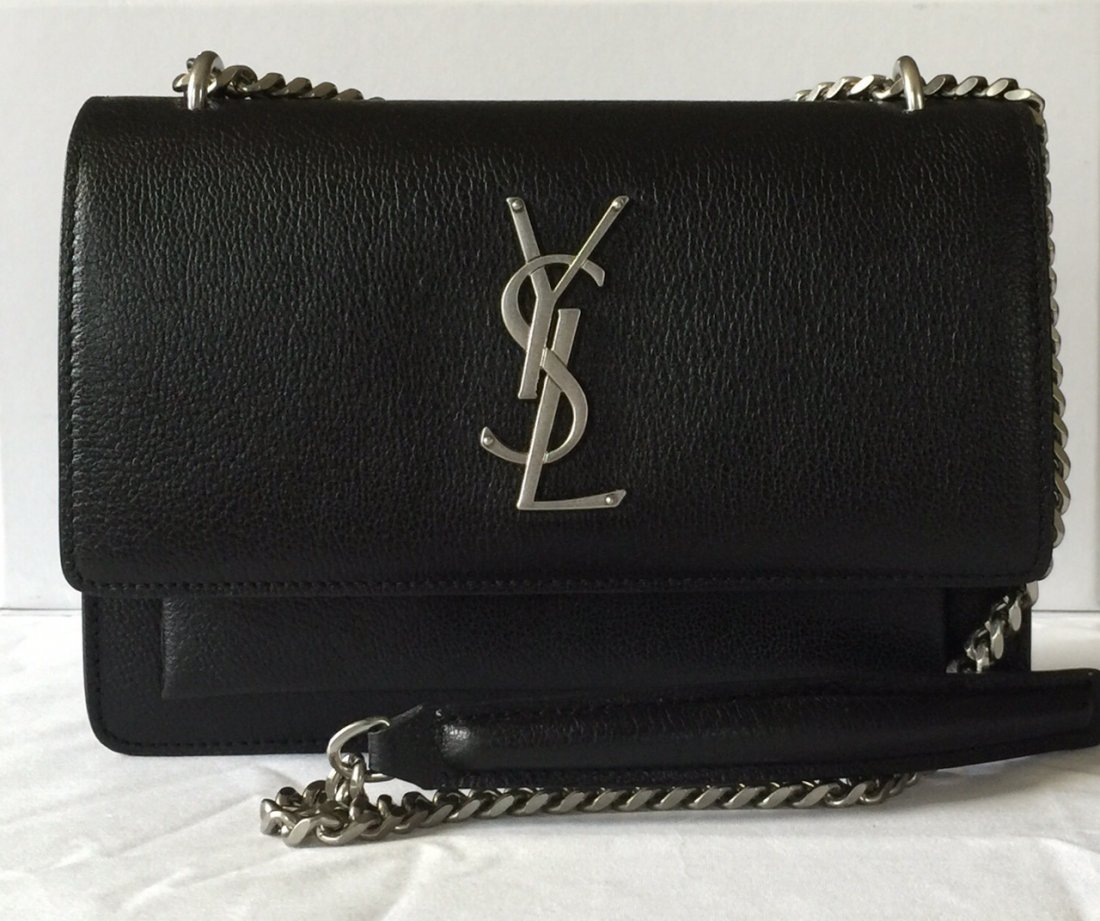 SECONDHANDED YSL LADY'S SHOUDER BAG - 2