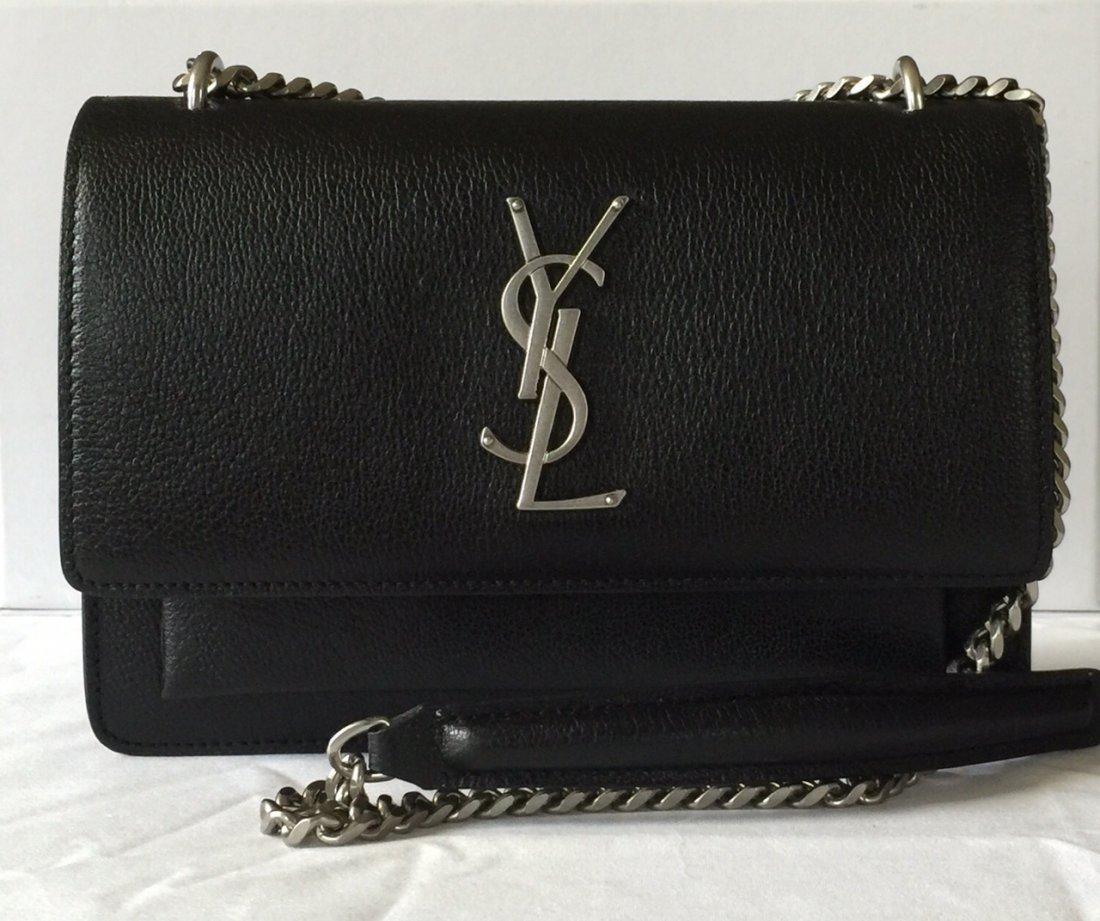 SECONDHANDED YSL LADY'S SHOUDER BAG - 2