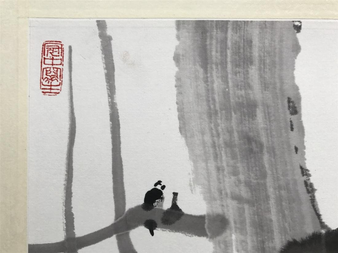 CHINESE SCROLL PAINTING OF LANDSCAPE - 3