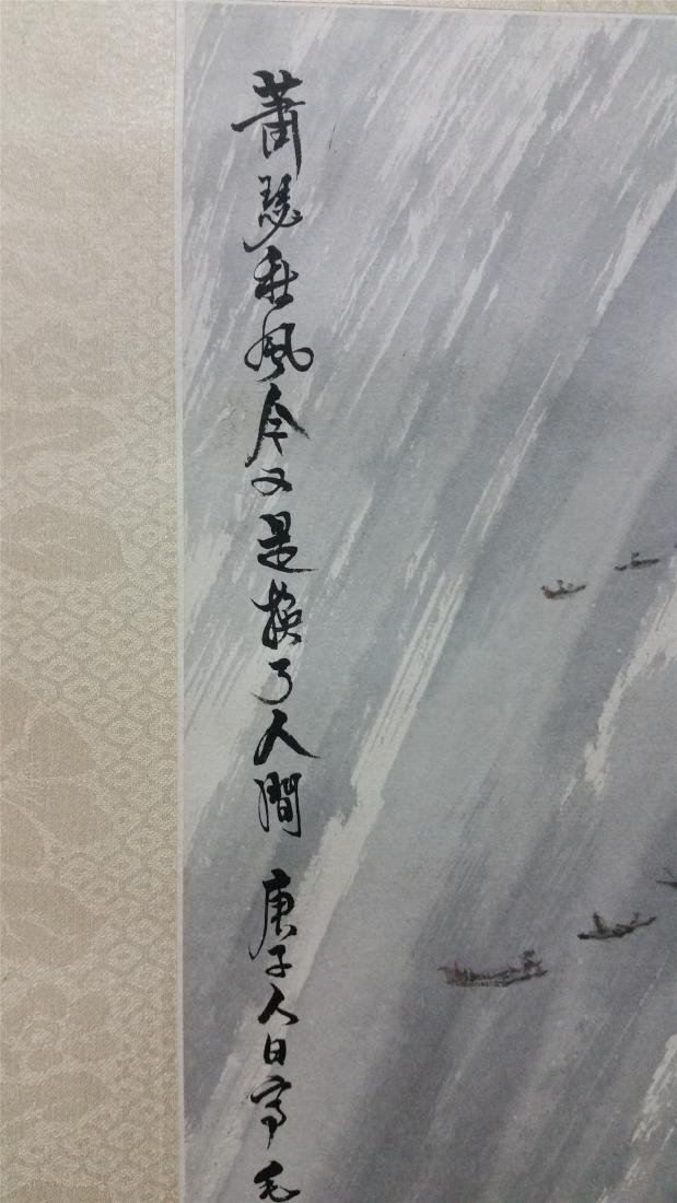 CHINESE SCROLL PAINTING OF LAKEVIEW - 4