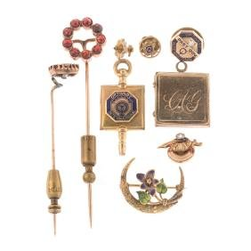 A Selection of Gold Jewelry
