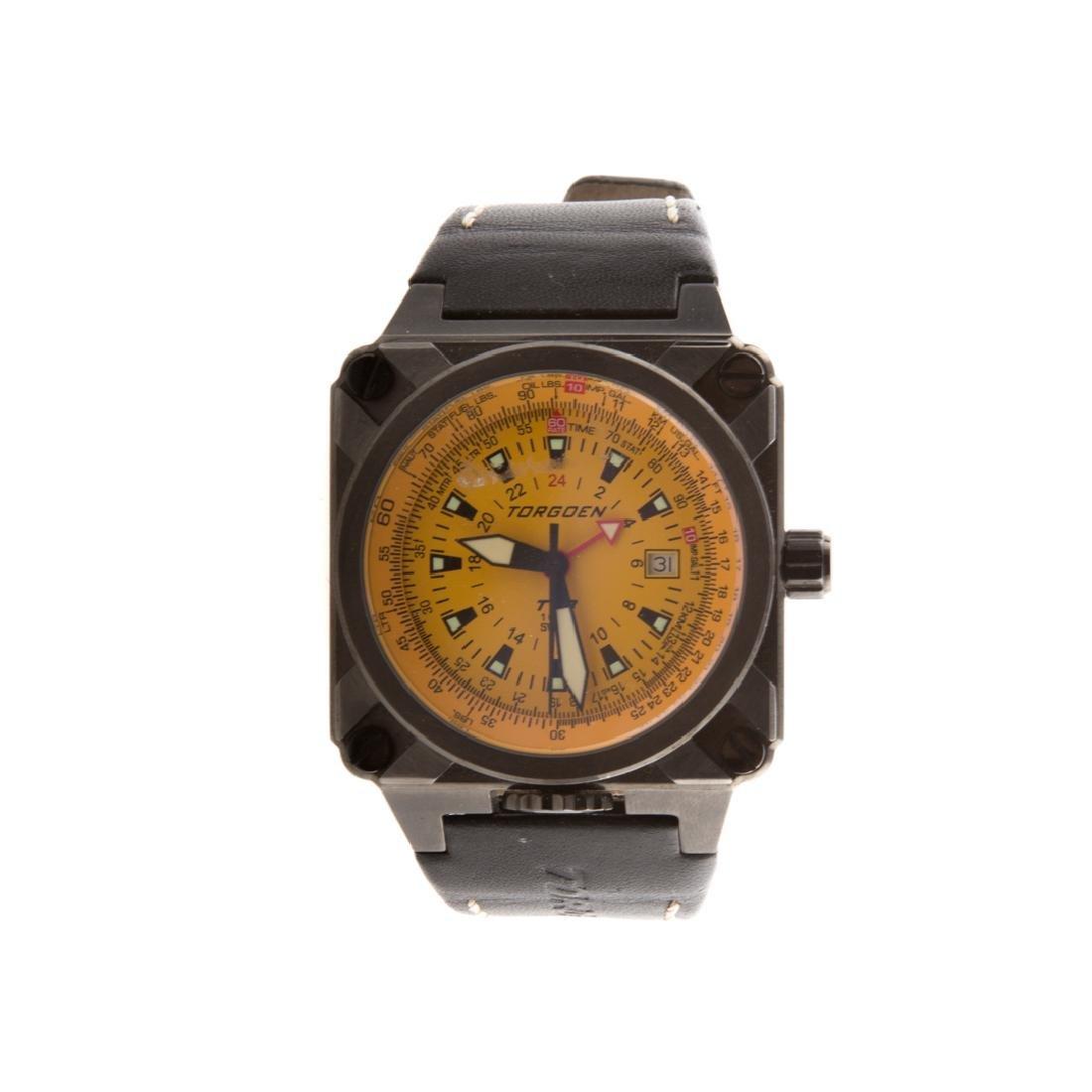 A Gentlemen's Swiss Torgoen Watch