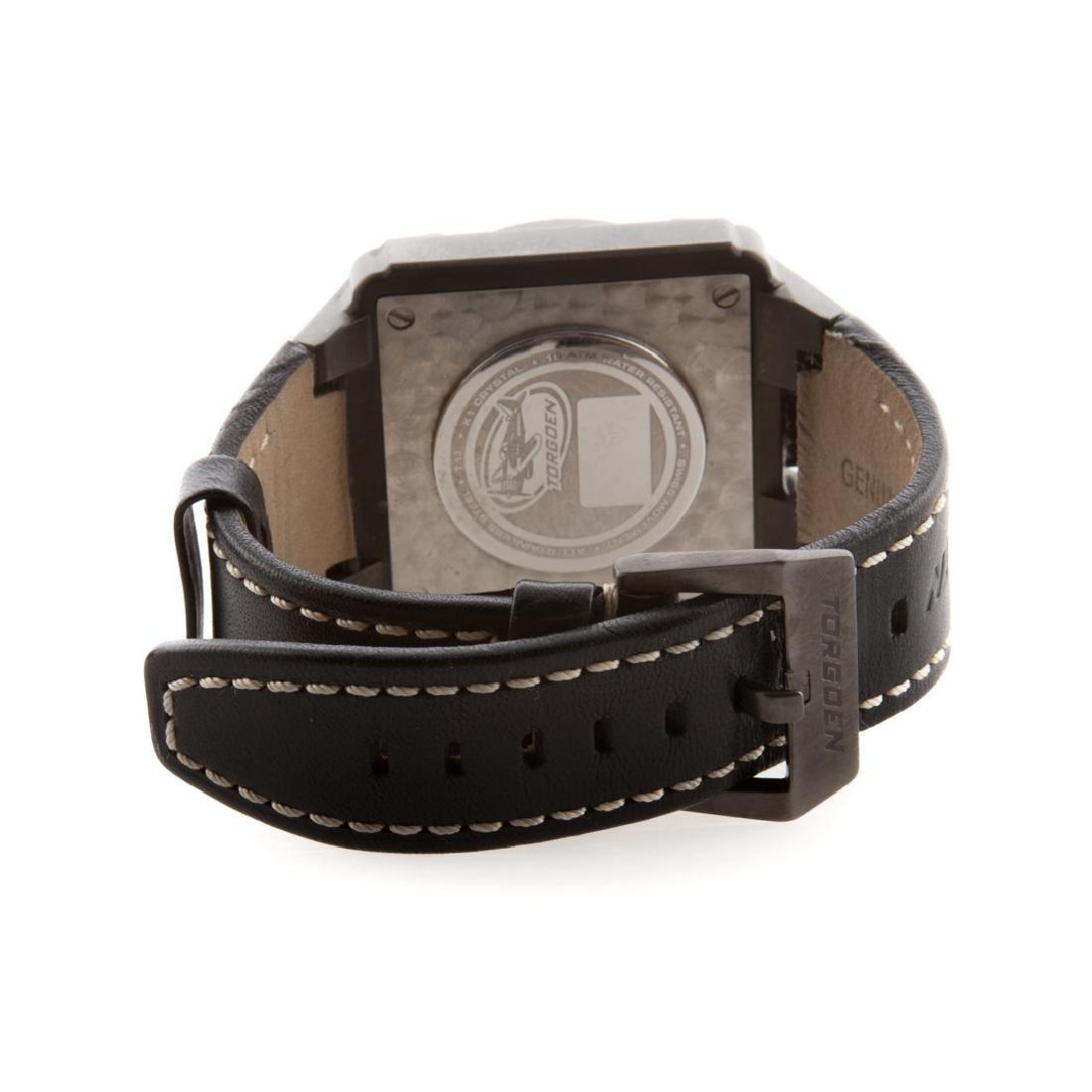 A Gentlemen's Swiss Torgoen Watch - 3