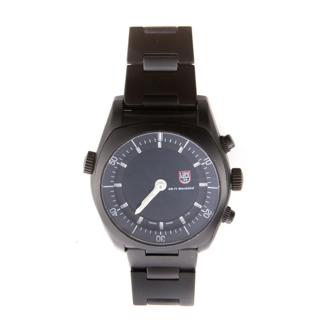 A Gentlemen's Lockheed Martin Luminox Watch