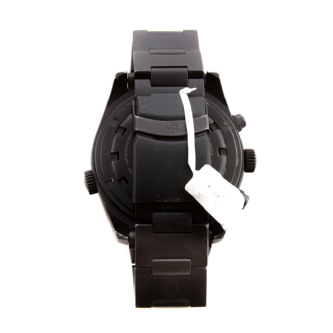 A Gentlemen's Lockheed Martin Luminox Watch - 4
