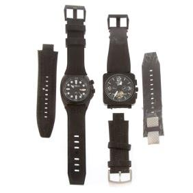 Two Gentlemen's Bell and Ross Watches
