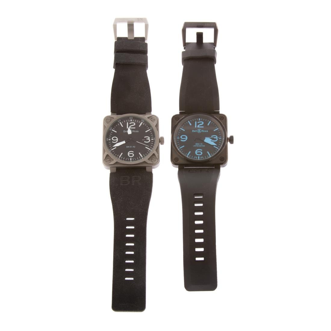 Two Gent's Bell & Ross Inspired Watches - 4