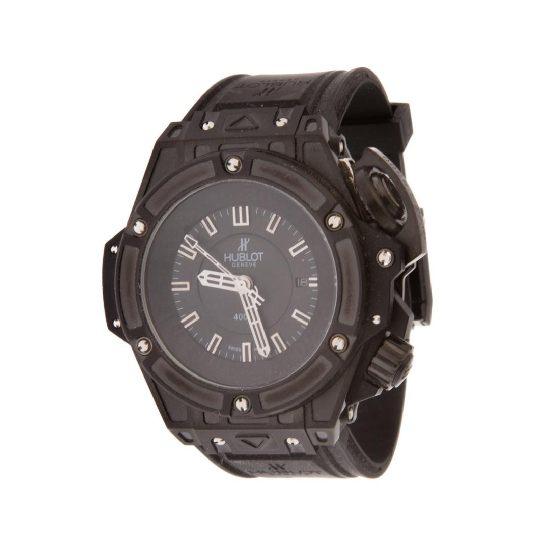 A Gent's Hublot Inspired Diver 4000 Watch