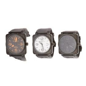 Three Gent's Inspired Bell & Ross Watches