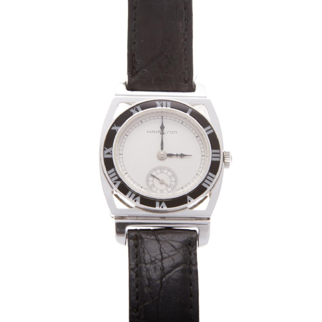 A Hamilton 1928 Yankees World Champion Watch