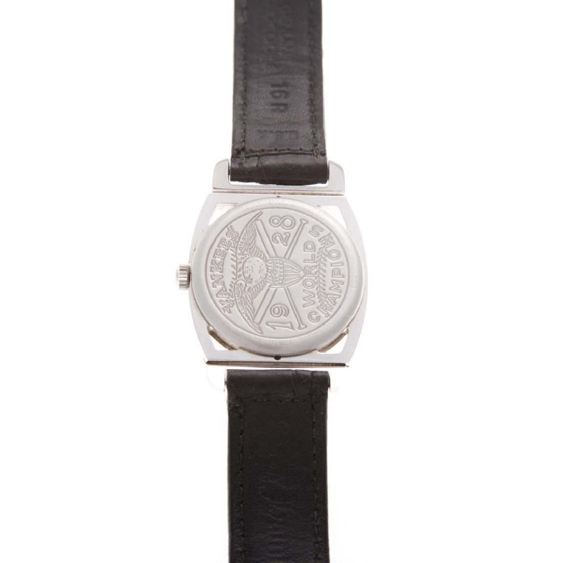 A Hamilton 1928 Yankees World Champion Watch - 3