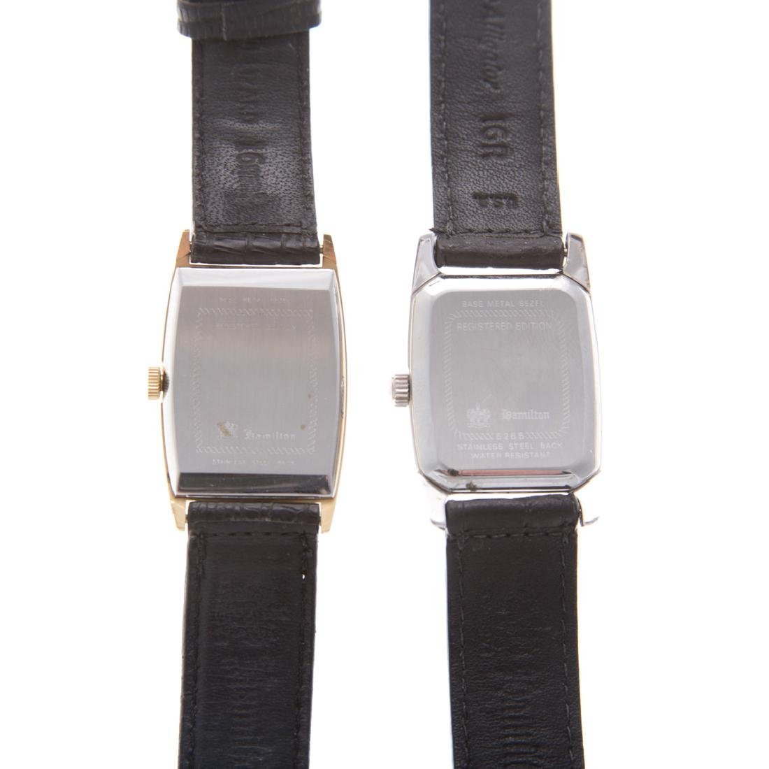 A Pair of Gent's Hamilton Wrist Watches - 3