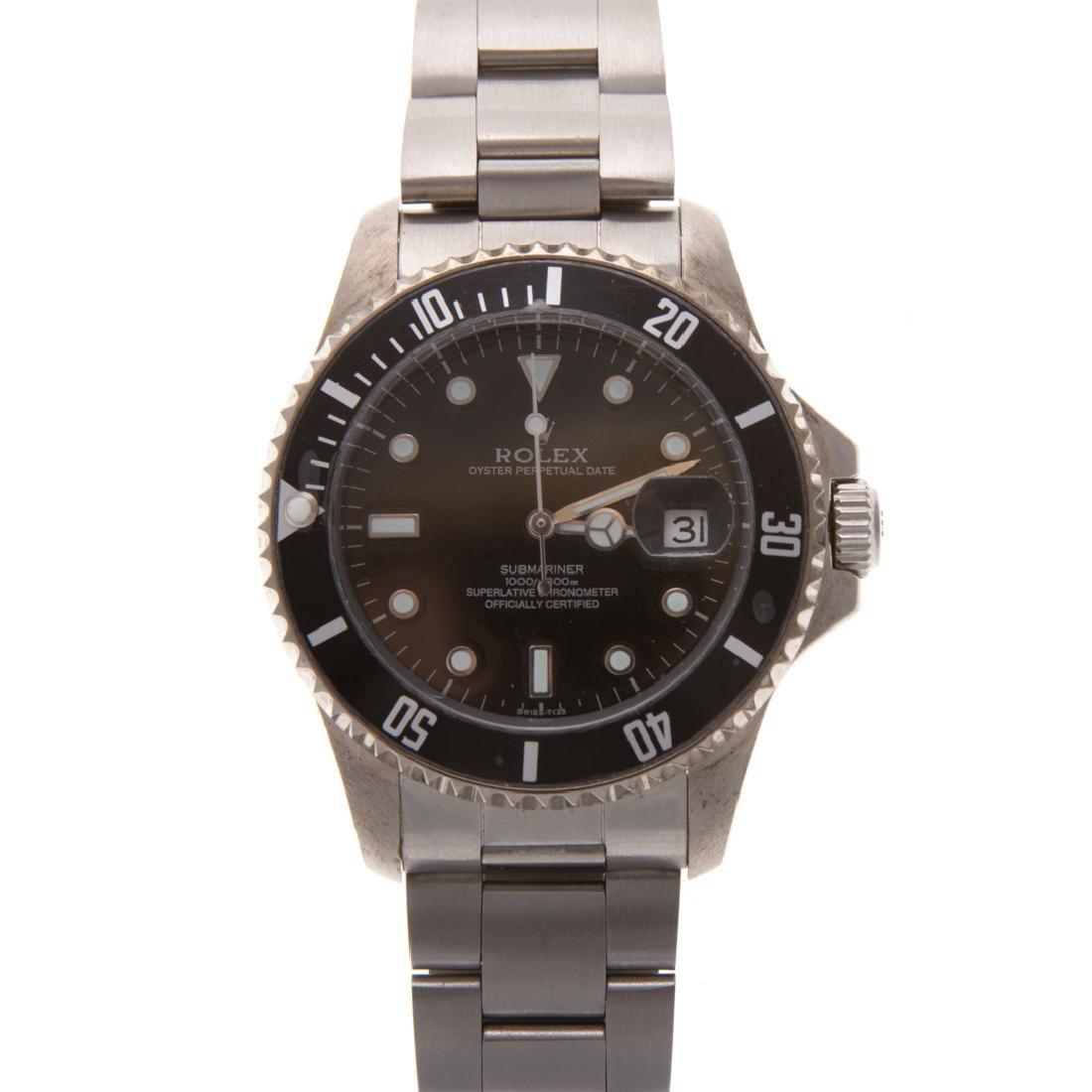 A Gent's Rolex Inspired Submariner Watch