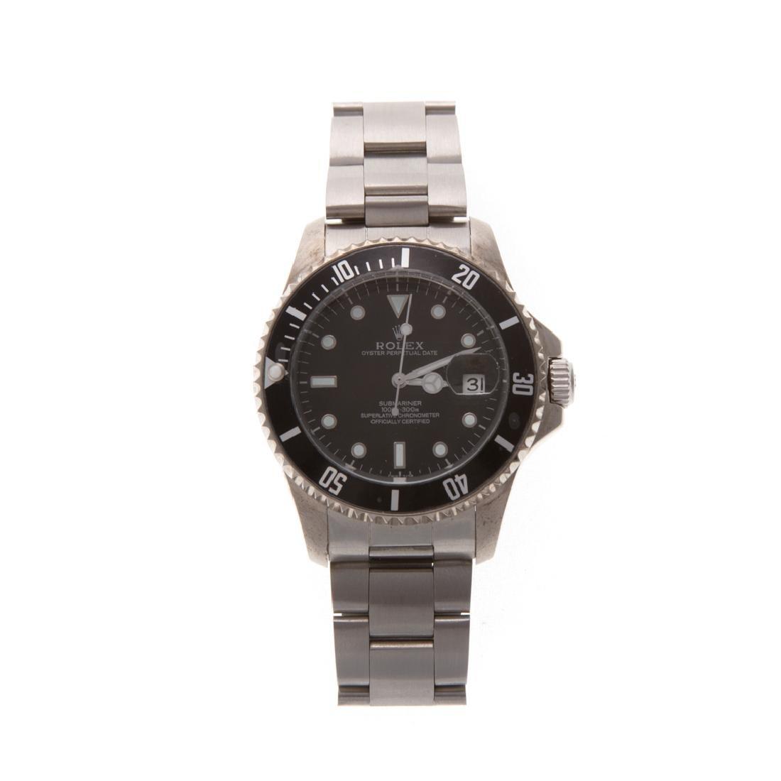 A Gent's Rolex Inspired Submariner Watch - 2