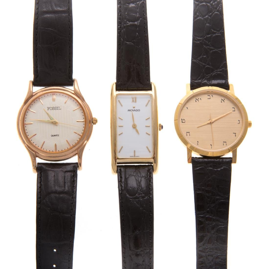 A Trio of Gent's Wrist Watches