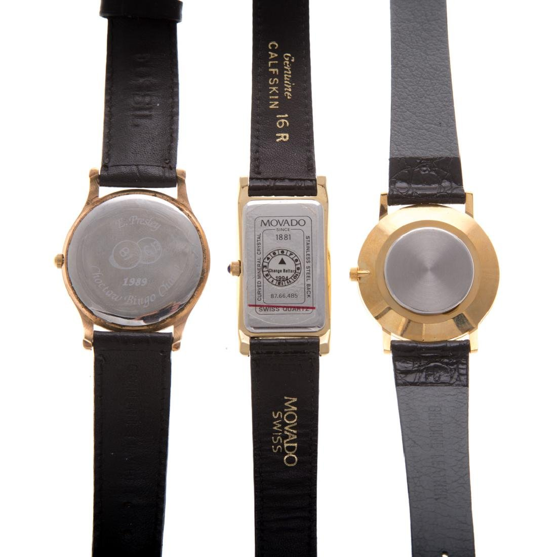 A Trio of Gent's Wrist Watches - 3