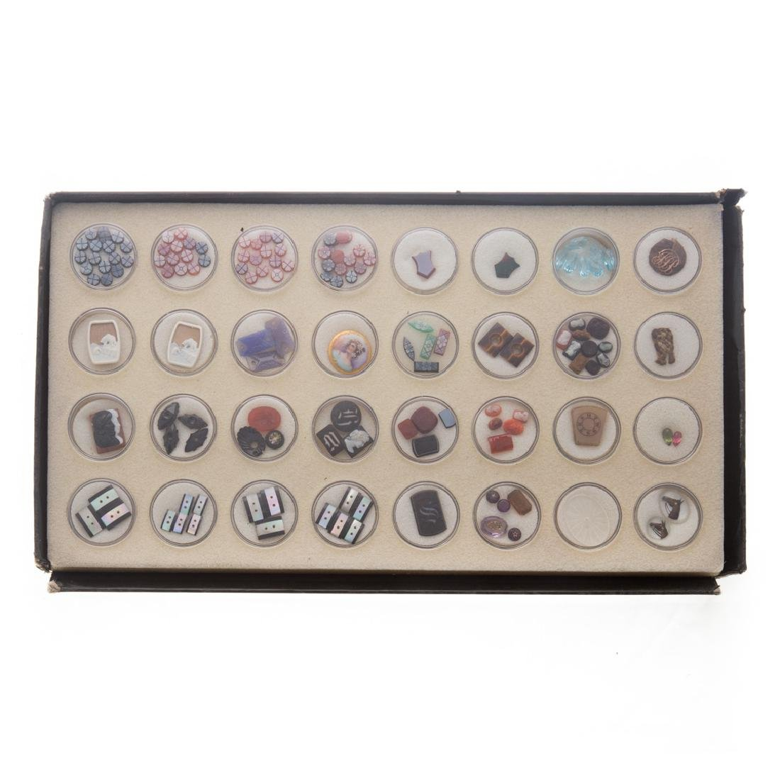 A Collection of Natural Carved Gem Stones - 4